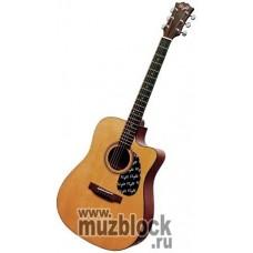 FLIGHT W 12701СEQ NA - электроакустическая гитара