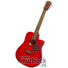 FLIGHT W57С BRB - акустическая 7-струнная вестерн гитара