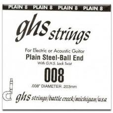GHS 008 - одиночная струна 0,008