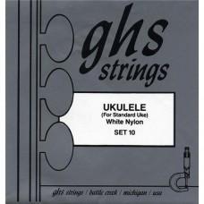 GHS 10 - струны для обычной укулеле