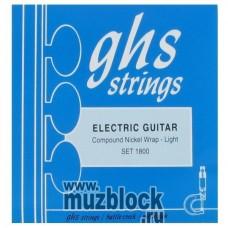 GHS 1800 - струны для электрогитары