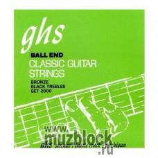 GHS 2000 - нейлоновые струны для классической гитары, сильное натяжение