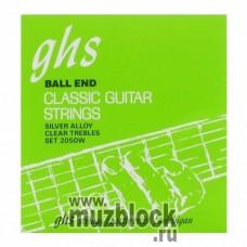 GHS 2050W - нейлоновые струны для классической гитары, сильное натяжение