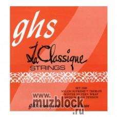 GHS 2300 - струны для классической гитары, нейлон Supreme, средне-сильное натяжение