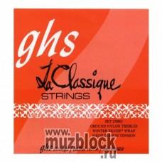 GHS 2300G  - струны для классической гитары, нейлон Ground, средне-сильное натяжение