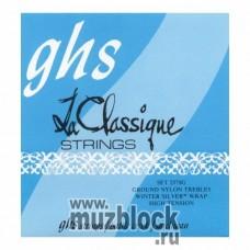 GHS 2370G - струны для классической гитары, нейлон Ground, сильное натяжение