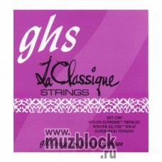GHS 2380 - струны для классической гитары, нейлон Supreme, очень сильное натяжение