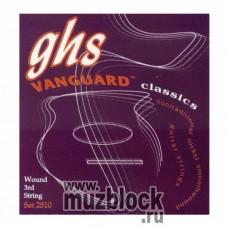 GHS 2510 - нейлоновые струны для классической гитары, никель, сильное натяжение