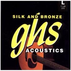 GHS 370 - струны для акустической гитары