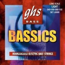 GHS M6000 - струны для бас-гитары