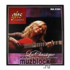 GHS MA2390 - струны для классической гитары, титановый сплав, сильное натяжение, Muriel Anderson