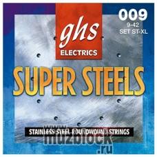 GHS ST-XL  - струны для электрогитары