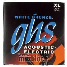 GHS WB-XL - струны для акустической гитары