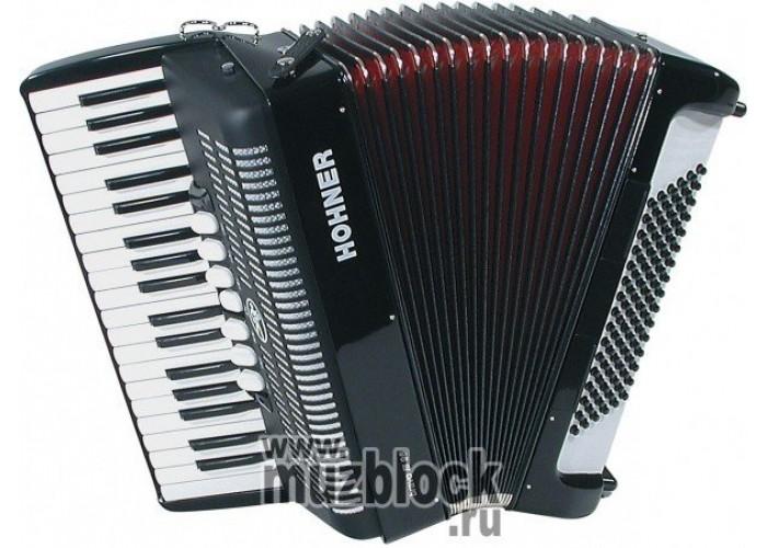 HOHNER Bravo III 96 (A1072/4072) black - аккордеон 7/8