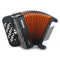 HOHNER Nova II 72 (A1563/A4263) red - кнопочный аккордеон 3/4
