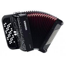 HOHNER Nova II 72 (A4262) black - кнопочный аккордеон 3/4