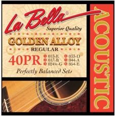 LA BELLA 40PR - струны для акустической гитары