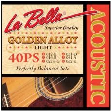 LA BELLA 40PS - струны для акустической гитары