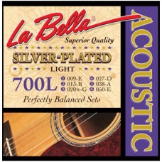 LA BELLA 700 L - струны для акустической гитары