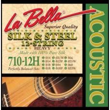 LA BELLA 710-12H - струны для 12-струнной гитары