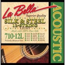 LA BELLA 710-12L - струны для 12-струнной гитары