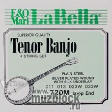LA BELLA 720 - струны для тенор банджо