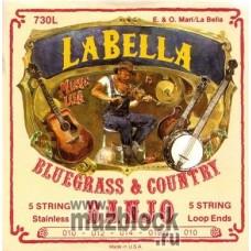 LA BELLA 730L - струны для тенор банджо,