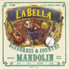 LA BELLA 770M - струны для мандолины,