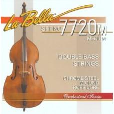 LA BELLA 7720 M  - струны для контрабаса