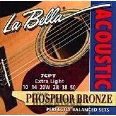 LA BELLA 7GP-12M - струны для 12-струнной гитары