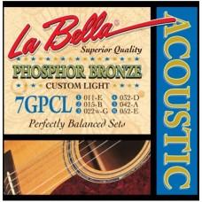 LA BELLA 7GPCL - струны для акустической гитары