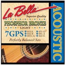 LA BELLA 7GPS - струны для акустической гитары
