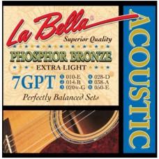 LA BELLA 7GPT - струны для акустической гитары