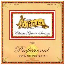 LA BELLA 7SG - струны для 7-стр. гитары