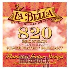 LA BELLA 820 Flamenco - струны для классической гитары