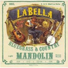 LA BELLA 880L - струны для мандолины,