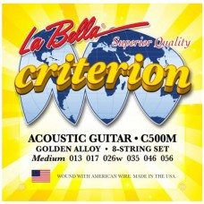 LA BELLA C500M - струны для акустической гитары