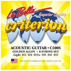 LA BELLA C500S - струны для акустической гитары