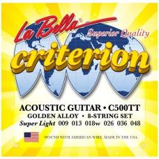 LA BELLA C500TT - струны для акустической гитары