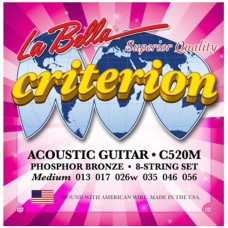 LA BELLA C520M - струны для акустической гитары