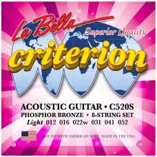 LA BELLA C520S - струны для акустической гитары