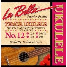 LA BELLA Ukulele 12 - тенор укулеле