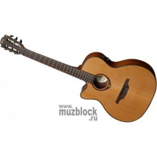 LAG GLA TNL200A14CE электроакустическая гитара для левши