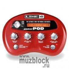 LINE 6 POCKET POD DIRECT GUITAR PREAMP - компактный моделирующий гитарный процессор