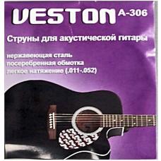 VESTON A306 - струны для акустической гитары