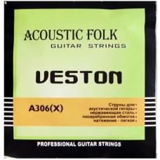 VESTON A306X - струны для акустической гитары