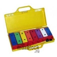 VESTON BLC-8H - металлофон с цветными пластинами