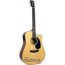 BLUERIDGE BR-43CE6 - электроакустическая гитара