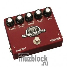 YERASOV (GAMMA) BC-1 Brown Creature - педаль эффектов для гитары