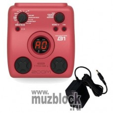 ZOOM B1+AD0016 - бас-гитарный процессор эффектов
